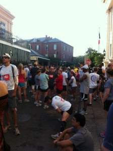 Runners at the start line!