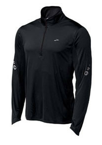 Brooks Men's HVAC Synergy Long Sleeve 1/2 Zip