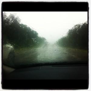 Rainy Interstate